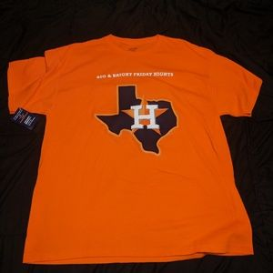 Houston Astros in Stadium Giveaway T-shirt